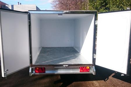 Автомобильный прицеп - фургон ССТ-7132-07 рессорный, одноосный.