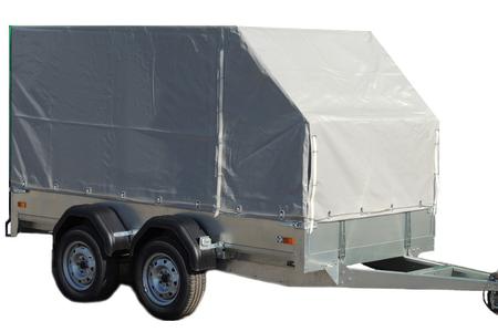 Автомобильный прицеп ССТ 7132-010 с тентом