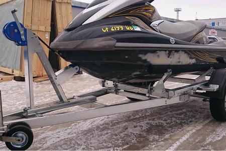 Одноосный легковой прицеп для перевозки гидроциклов, катеров и ПВХ –лодок ССТ-7132-13