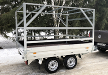 Автомобильный двухосный прицеп коммерческой серии ССТ-7132-20