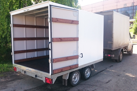 Прицеп - фургон ССТ-7132-38 двухосный