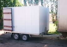 Прицеп - фургон ССТ-7132-43 двухосный