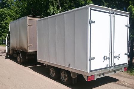Прицеп - фургон ССТ-7132-32 двухосный