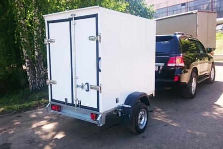 Автомобильный прицеп - фургон ССТ-7132-04 рессорный, одноосный.