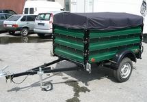 Автомобильный прицеп «Крепыш» 8213-03 с тентом