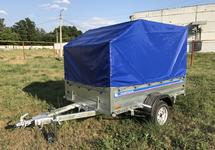 Автомобильный прицеп 2,5х1,56 Г (на рессоре Газель) с тентом