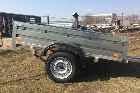 Автомобильный прицеп 2х1,3 В (на рессоре Волга)
